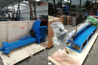 Plastic Pellet Making Line is Purchased by an Private Workshop