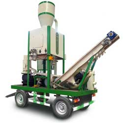 integrated pellet mobile plant